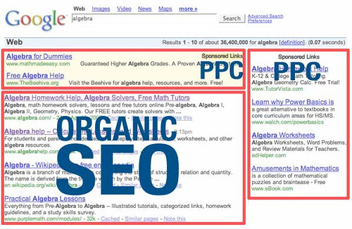 Search Engine Optimisation (SEO) Results