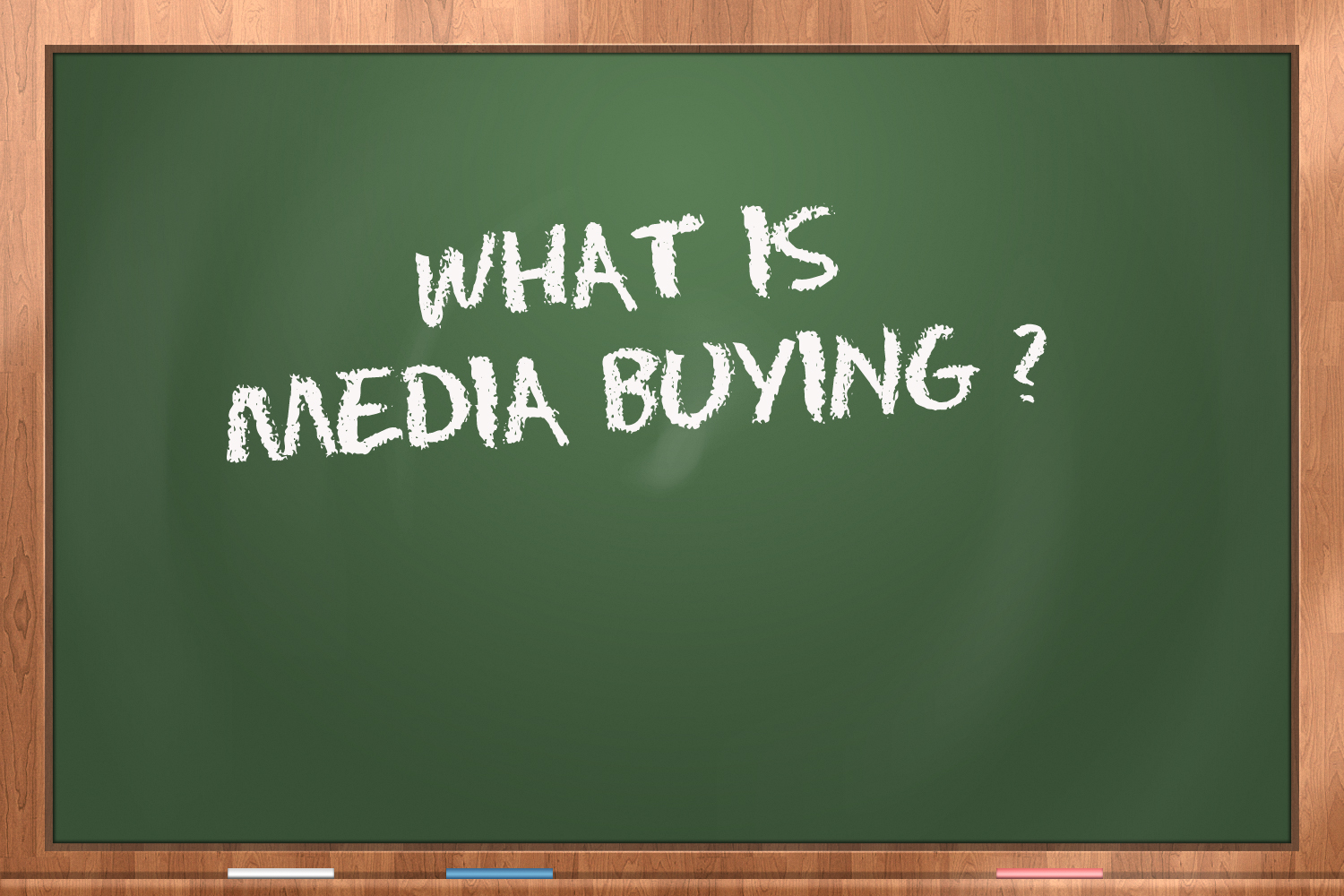 why get into media buying