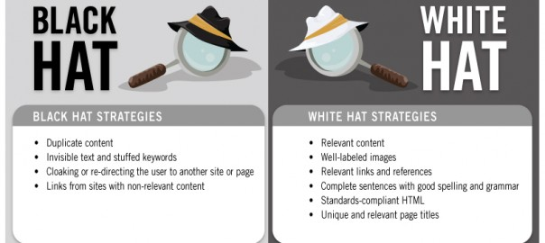 white hat seo black hat seo
